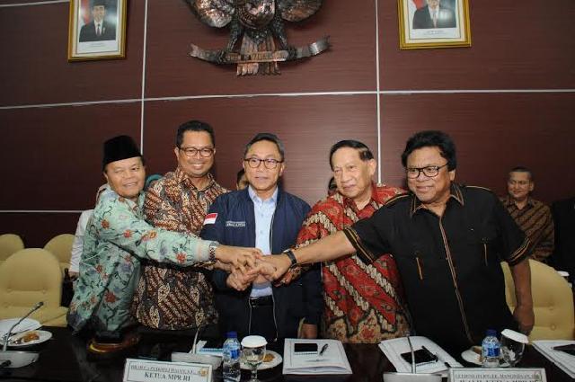 Ragab MPR Putuskan Tiga Wakil Ketua MPR yang Baru