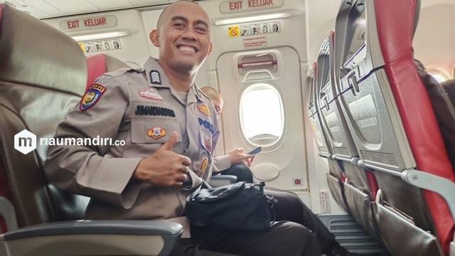 Bripka Jumardiansyah Satu-satunya Personel Polres Siak Ikuti Pendidikan SIP Angkatan 50