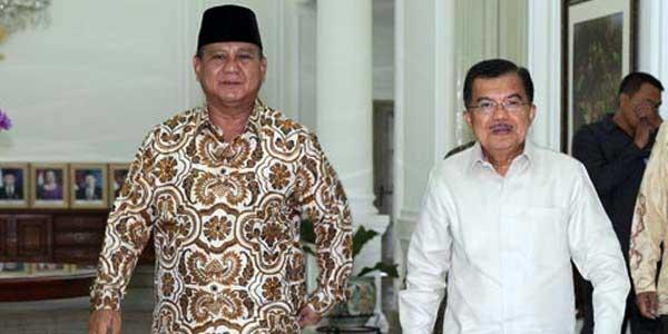 Prabowo-Jusuf Kalla Bertemu, Ini yang Dibicarakan