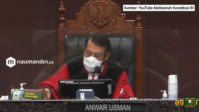 Sengketa Pilkada Riau, MK Putuskan PSU di Inhu dan Rohul