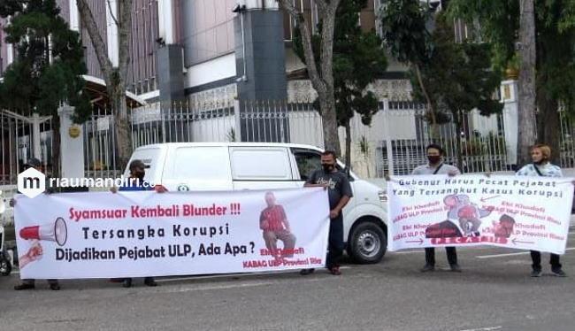 Pernah Jadi Tersangka, Pengangkatan Ekky sebagai Kabag ULP di Sekdaprov Riau Disoroti