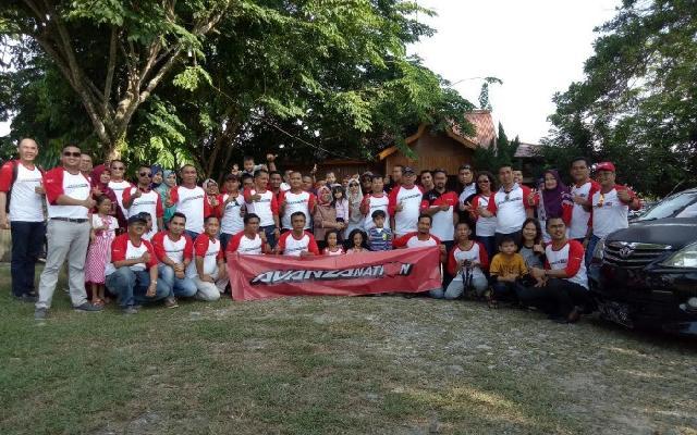 Ratusan Avanzantion Touring ke Ulu Kasok Kampar