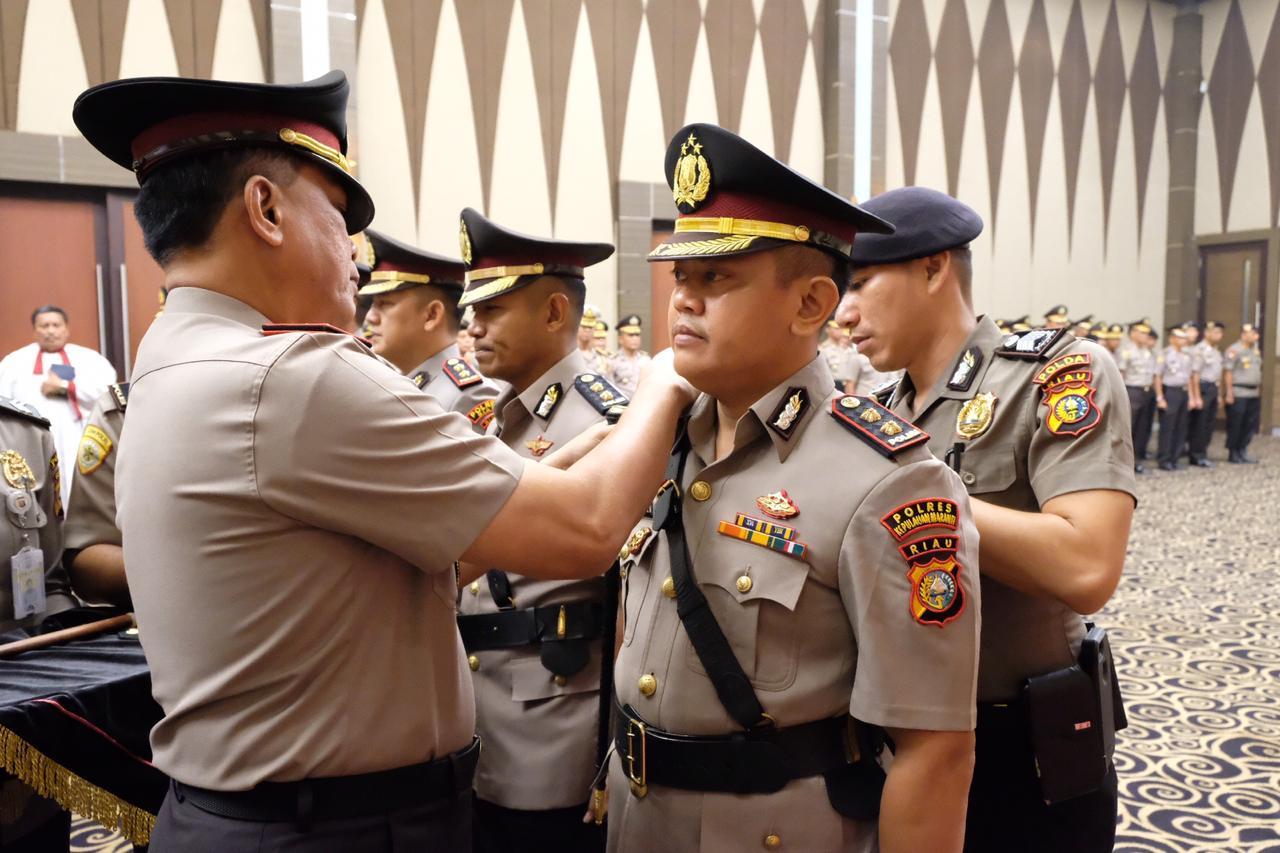 Jabat Kapolres Meranti, AKBP Taufiq Lukman Minta Masukan dari Senior