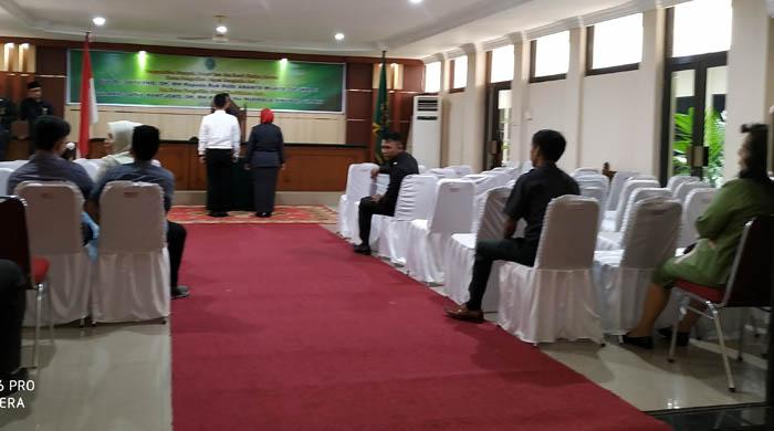 Pagi Ini, Dua Ketua PN di Riau Dilantik