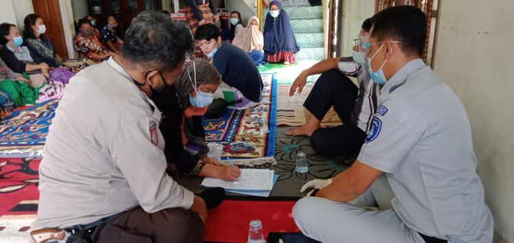 Hitungan Jam, Jasa Raharja Riau Serahkan Santunan Korban Meninggal Laka Lantas di Rengat