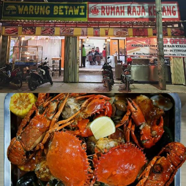 Warung Betawi Rumah Raja Kerang Kuliner Seafood Ala Milenial Manjakan Warga Tangsel Riaumandiri Co