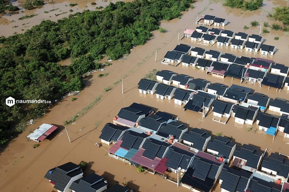 1.108 Rumah di Pekanbaru Terdampak Banjir, Berikut Lokasinya
