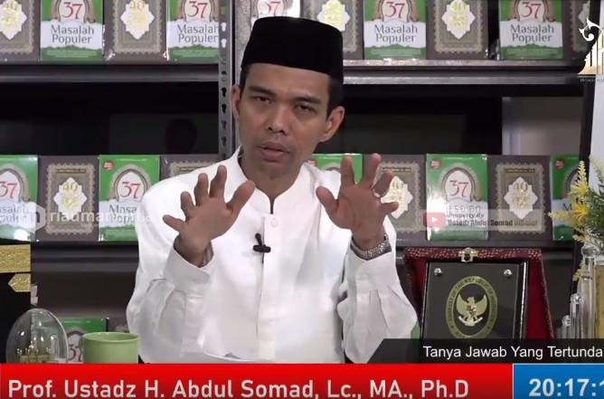 Pesan Ustaz Abdul Somad Jelang Akhir Ramadhan: Anggap Kau akan Mati Besok