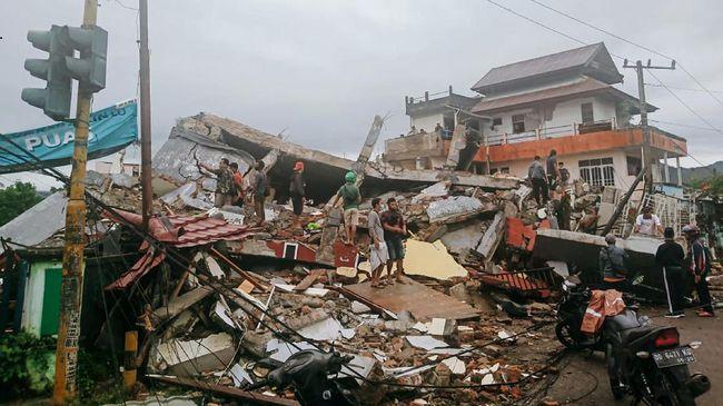 Sudah 35 Orang Tewas Akibat Gempa Mamuju
