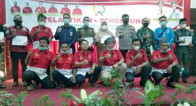 Dilantik Oleh DPD Riau, DPC PWRI Kini Resmi Hadir di Kuansing