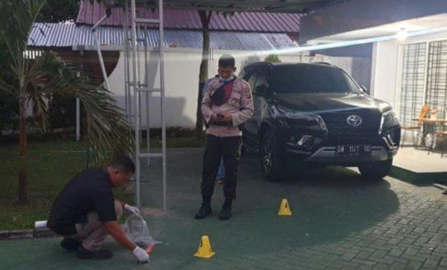 Rumah Kadivpas Kemenkumham Riau Diteror