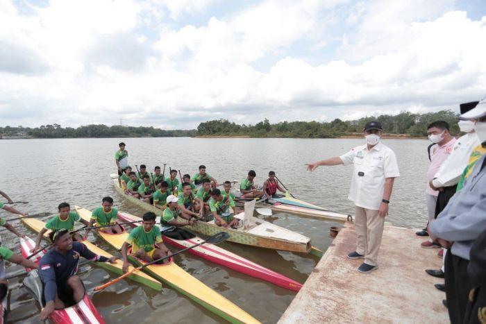 Pesan Gubri Syamsuar Kepada Atlet yang akan Berlaga di PON Papua