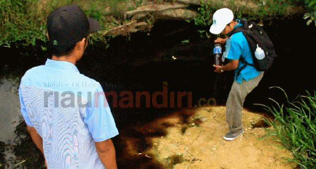 Masyarakat Desak Pencemaran Sungai Sitalas Diusut Tuntas