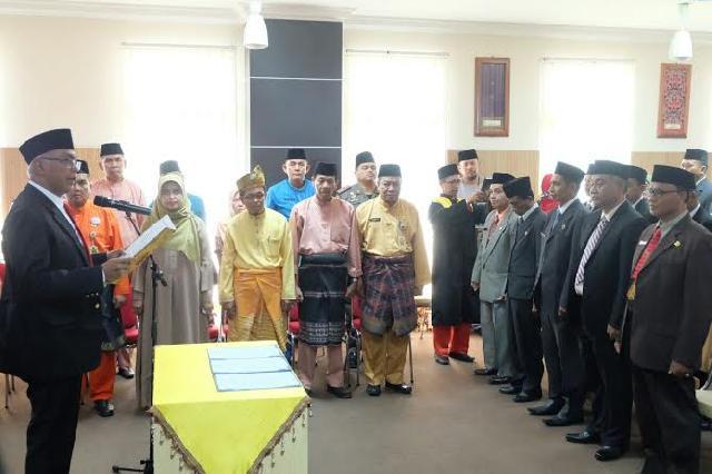 Pjs Bupati Inhil Lantik Pejabat Administrator, Pejabat Pengawas dan Jabatan Fungsional