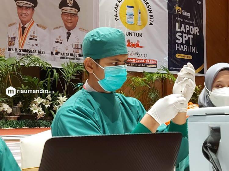 80 Persen JCH Riau Telah Divaksin Anticovid-19