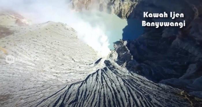 Penambang Ditelan Gelombang Tinggi Akibat Ledakan Gunung Ijen Banyuwangi