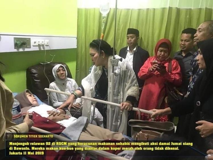 RSCM Belum Bisa Beri Informasi Soal Pendukung 02 yang Keracunan di Bawaslu