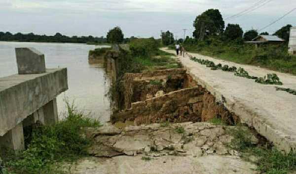 Apa Kabar Kasus Ambruknya Turap Danau Tajwid di Pelalawan?
