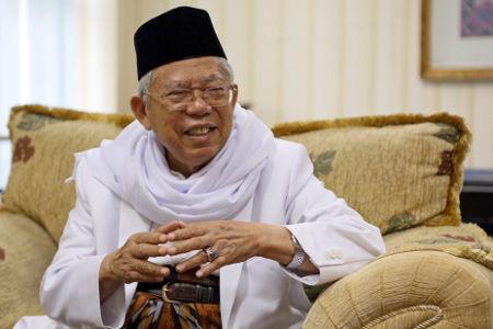 Ma'ruf Amin Tak Harus Mundur dari Ketua MUI