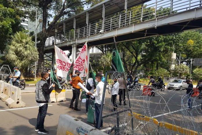 Polisi Tetapkan 3 Tersangka Perusakan Mobil Dinas Saat Demo Ricuh di Medan