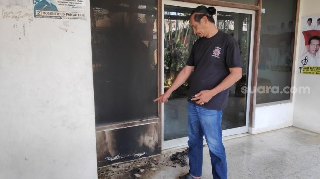 Begini Kondisi Rumah Wakil Ketua PDIP Bogor Pasca Diteror Bom Molotov