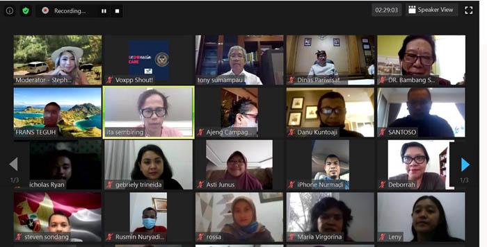 Bangkitkan Kembali Pariwisata di Nusantara, Kemenparekraf Luncurkan Protokol K4 di Daya Tarik Wisata