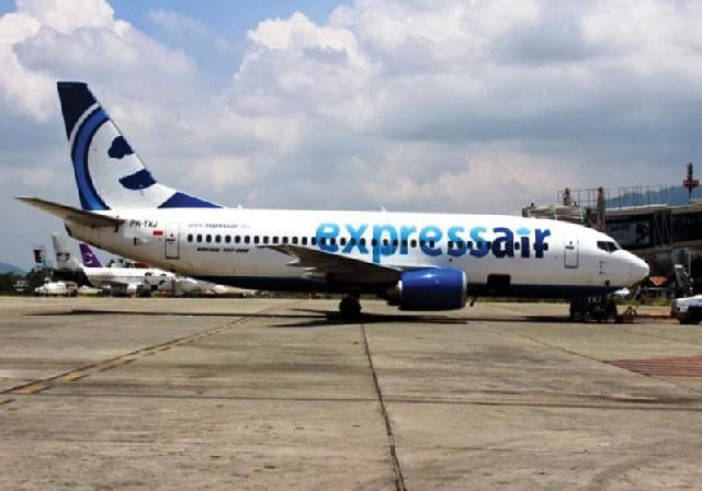 Express Air Buka Rute Pekanbaru-Malaka Akhir April