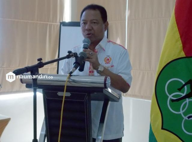 Ketua KONI Riau Emrizal Pakis Wafat Setelah Terpapar Covid-19