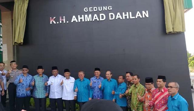 Gedung KH Ahmad Dahlan Umri Jadi Ikon Kampus Wisata Riau