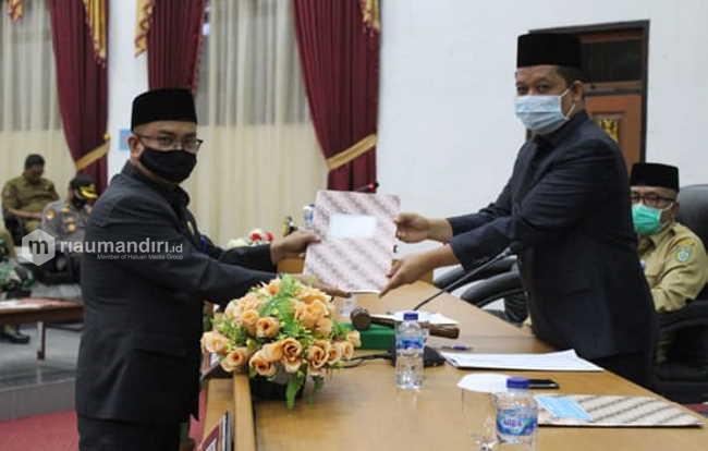 DPRD Dumai Gelar Paripurna Pengesahan 3 Ranperda Inisiatif Jadi Perda