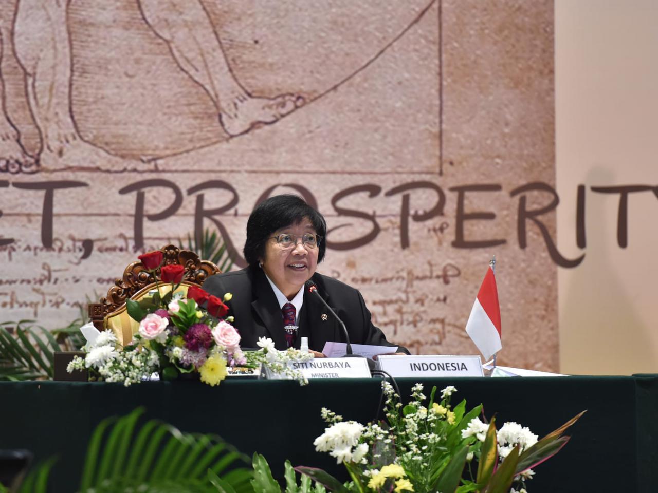 Pertemuan Menteri G20, Siti Nurbaya Sampaikan Program Pembangunan Kota Hijau