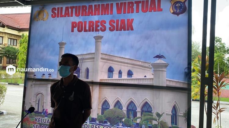 Tak Bisa Mudik? Polres Siak dan Jajaran Sediakan Silaturahmi Virtual Gratis