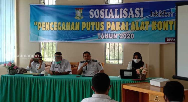 DPPKBP3A Kampar Sosialisasi Cegah Putus Pakai Kontrasepsi di Masa Pandemi Covid-19