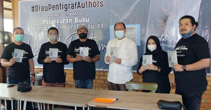 Ramaikan Dunia Literasi, Riau Pentigraf Authors Luncurkan Buku 'Langkah Pertama'