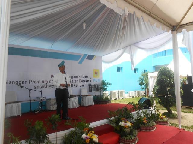 Pembangunan  Listrik di Sumatera  Terus Digesa