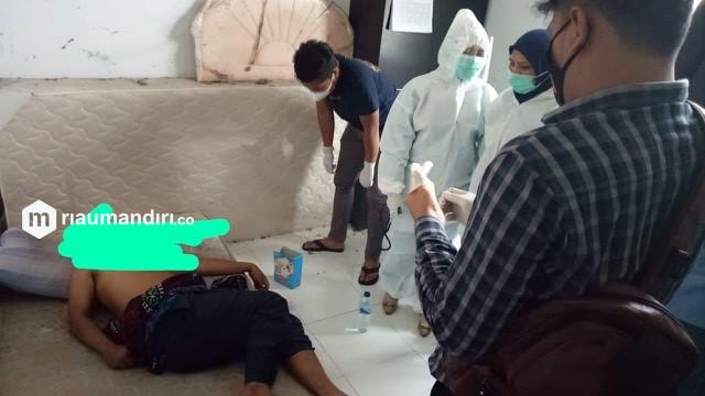 Diduga Menderita Penyakit,  Karyawan PT IKPP Ditemukan Tidak Bernyawa di Kamar Mess