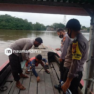 Pengusaha Tahu Perawang Tenggelam di Sungai Siak