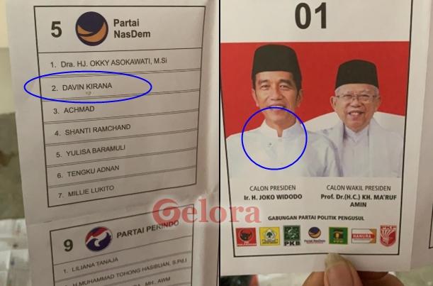KPU Terjun Usut Dugaan Surat Tercoblos Jokowi-Ma'ruf di Malaysia