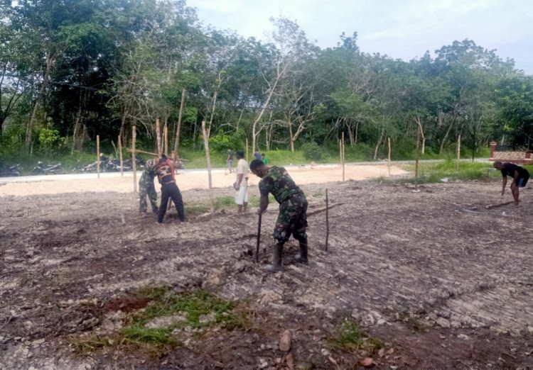 KLHK Bersama TNI dan Masyarakat Berkolaborasi Bangun KBD di 5 Desa Binaan