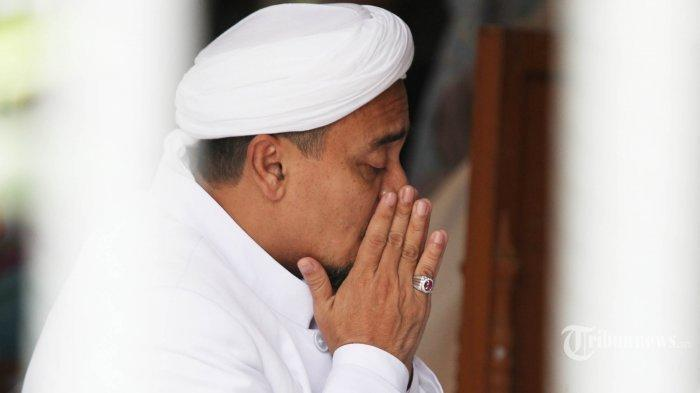 Habib Rizieq Teriak Minta Tolong Sesak Napas di Sel Isolasi