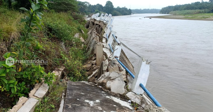 Dugaan Korupsi Proyek Pengaman Tebing Sungai di Rohul akan Dilaporkan ke Bareskrim Polri