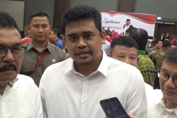 Menantu Jokowi Calwakot Medan Respons Penundaan Pilkada Serentak