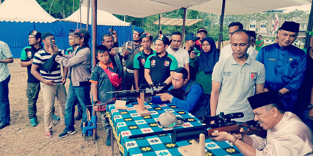 Dihadiri Bupati, Turnamen Menembak di Siak Diikuti Klub dari Luar Riau