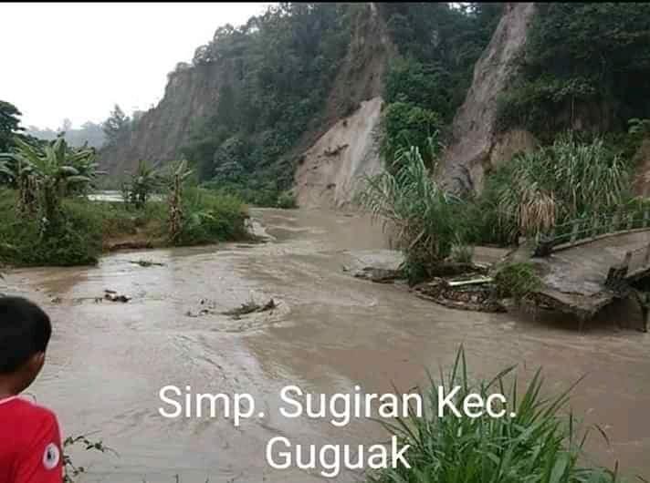 8 Kecamatan di Kabupaten Lima Puluh Kota Dilanda Banjir dan Longsor
