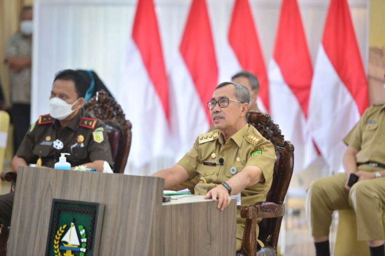 Angka Positif dan Kematian Akibat Covid-19 di Riau Tertinggi se-Sumatra