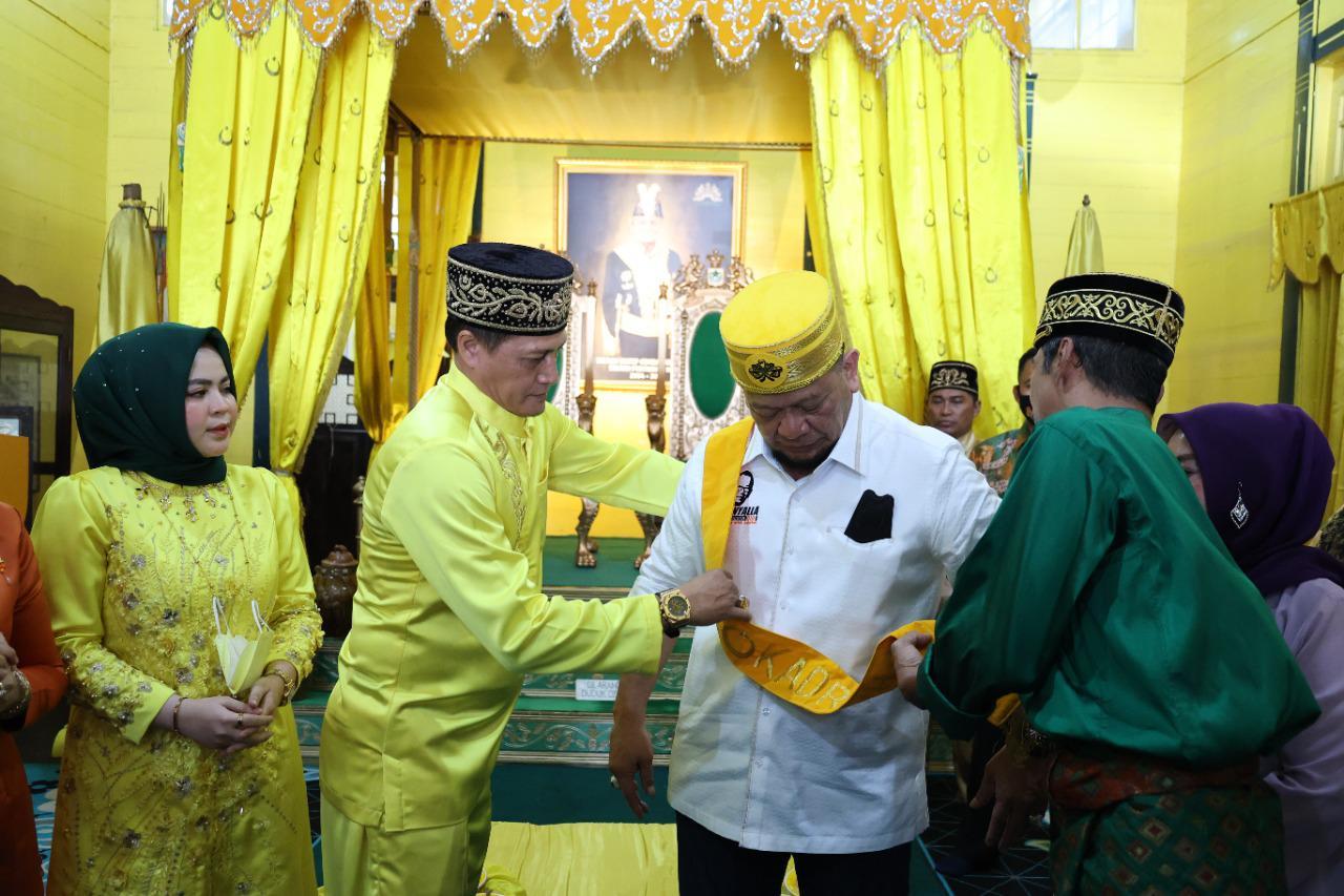 LaNyalla Dapat Gelar Kehormatan Datuk dari Kesultanan Pontianak