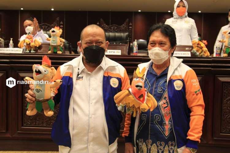 Sukseskan PON XX di Papua, DPD RI Rakor dengan Gubernur se-Indonesia