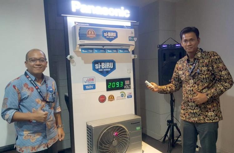 Si-BiRU dari Panasonic, AC Tangguh Hingga di Tegangan Listrik 160 Volt
