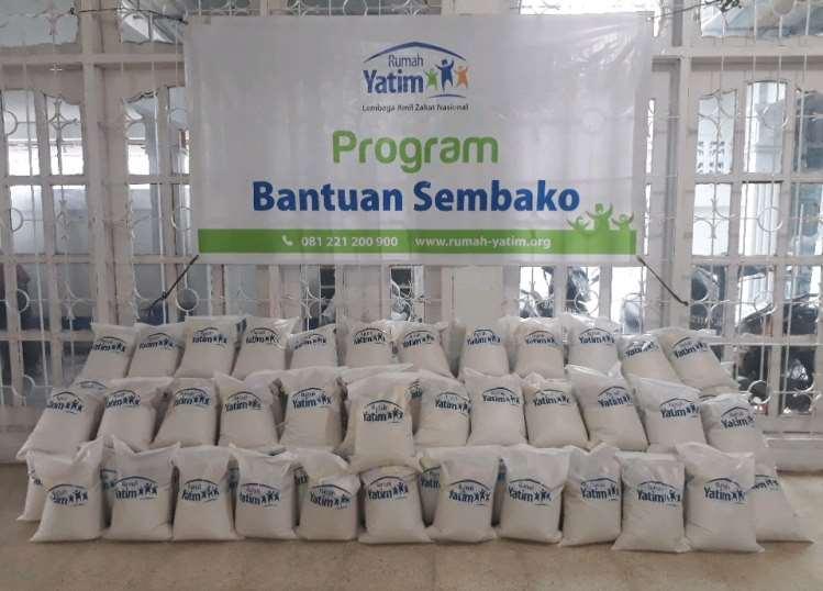 Rumah Yatim Persiapkan Paket Bantuan Bahan Pokok untuk Warga Prasejahtera Riau
