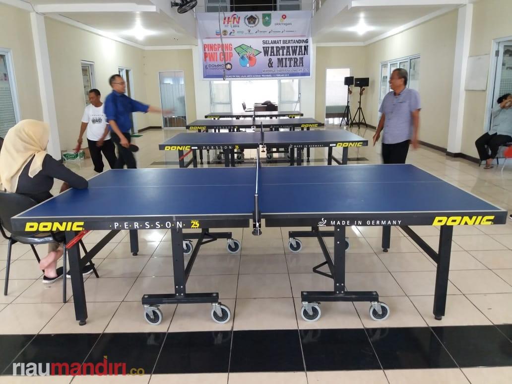 Besok Turnamen Pingpong PWI Cup 2019 Dibuka, Ini Komentar Kadispora Riau